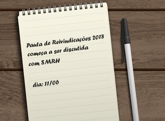 Pauta de Reivindicações 2018 começa a ser discutida com SMRH