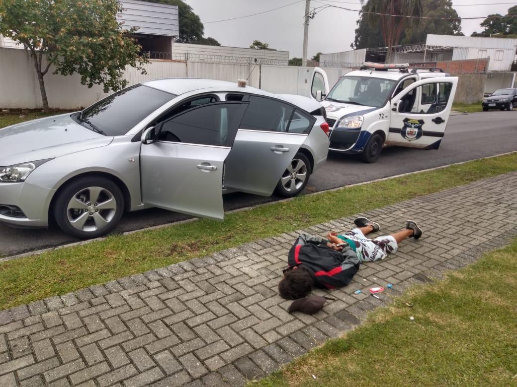 GM de Santa Felicidade recupera veículo roubado