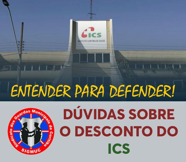 DÚVIDAS SOBRE O DESCONTO DO ICS
