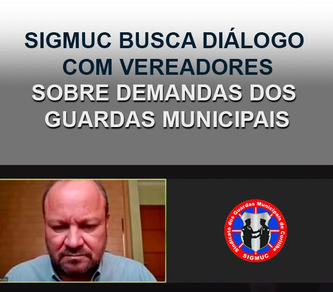 SIGMUC BUSCA DIÁLOGO COM VEREADORES SOBRE DEMANDAS DOS GUARDAS MUNICIPAIS
